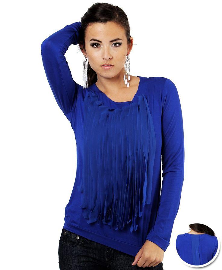 17 Best images about 2015 blusas azul royal on Pinterest | Cobalt ...
