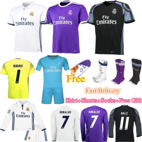 2017 football jersey kit #soccer short #sleeve shirt kid boy youth team #suit+soc,  View more on the LINK: 	http://www.zeppy.io/product/gb/2/112169556374/