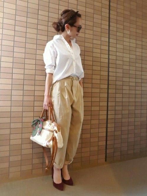 プチプラ王道ブランドGUではボトムだって2000円以内で買えるのが魅力!今年の春夏は引き続きゆるっとしたラインがトレンド。だらしなく見えない、大人可愛い履き回しコーデをご紹介します。