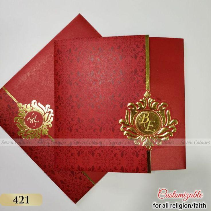 421 C Sevencolourscard Wedding Invitations Wedding Cards Marriage Invitation Card Online Wedding Cards