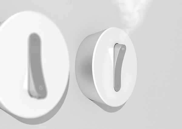 ON & ON_humidifier & water purifier on Behance