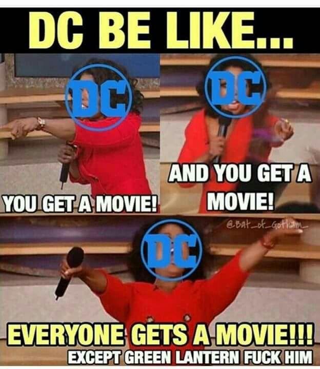 Poor Green Lantern
