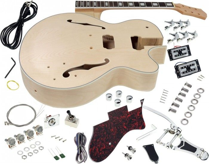 8 best diy kits images on pinterest arts and crafts kits diy kits solo gf style diy guitar kit maple body vibrato trem solutioingenieria Gallery