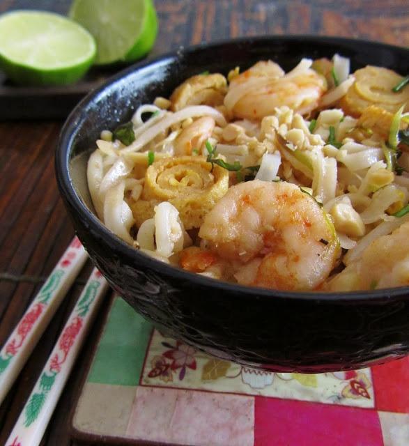 PAD THAI (o tallarines tailandeses salteados) ~ Cocinando con Marian