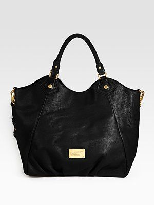 marc jacobs - gorgeous! via @design me daily: Fav Bags, Black Bags, Black Handbags, Nike Dunks, Design Handbags, Totes Bags, Awesome Handbags, High Shoes, Francesca Totes