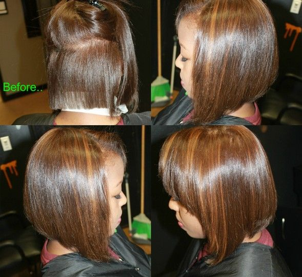 Diagonal Forward Haircut By Janae Miller Jana Miller Salons In