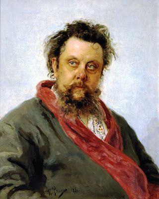 Modest Mussorgsky by Ilya Repin