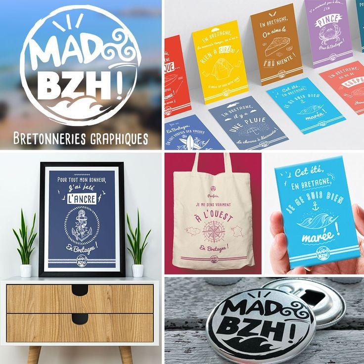 Découvrez l'univers de MAD BZH, cette nouvelle marque qui surfe avec légèreté et humour sur tout ce qui fait de la Bretagne une région si singulière !! ⚓🌊🦀🍻 #madbzh #aaska #graphicdesign #humour #madeinbzh #bretagne #bzh #breizh #breizhpower #boutique #instagood #waves #creative #affiche #decoration #jaimelabretagne #fansdebretagne #bretagnemylove #DestinationBretagne #bestofbretagne #Miamorbihan #labellebretagne  #unlimitedbretagne #lifestyle