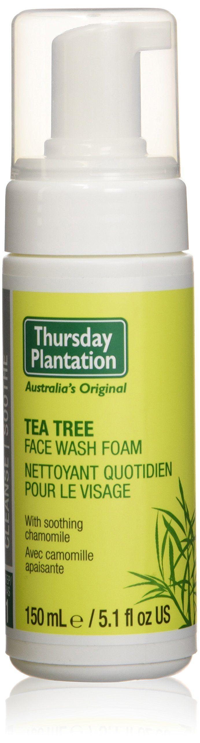 Tea Tree Face Wash Foam Thursday Plantation 5.1 fl oz Liquid. Thursday Plantation.