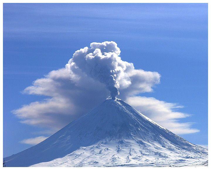 """eruption in Kljuchevsk"""" was made by the author: v-ushakov"""