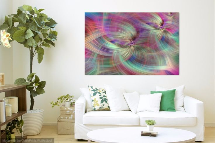 Rainbow Colored Abstract. Concept Divine Virtues by Jenny Rainbow.   Rainbow colored abstract patters horizontal. Concept Divine virtues. Series Human values.   Colors themes in home decor.  All our lives from the birth we are interacting with colors consciously or unconsciously. The colors affecting our daily life, they have positive or negative influence, changing our mood and we feeling those vibrations.