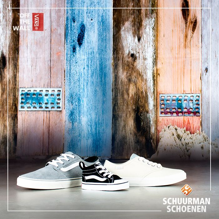 Vans OFF THE WALL heeft trendy schoenen voor het hele gezin! Klik om onze hele Vans collectie te bekijken.