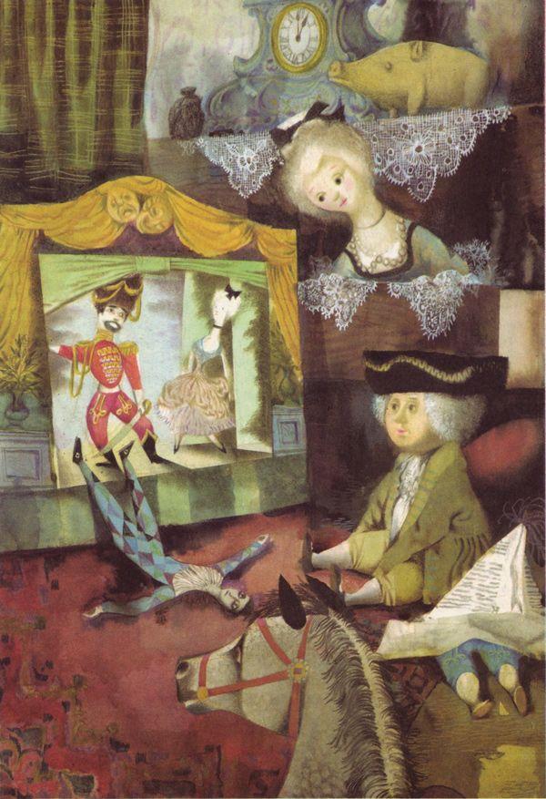 Jiří Trnka illustrations to Hans Christian Andersen tales