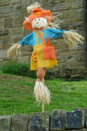17 Best Images About Scarecrows On Pinterest Primitive
