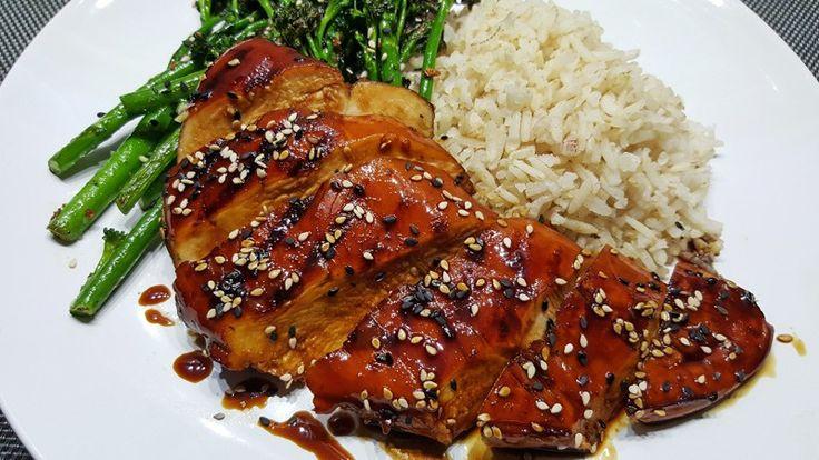 Simpele Kip Teriyaki met zelfgemaakte teriyaki saus #recepten #recept #koken #eten #food #chickenteriyaki #kipteriyaki #diner