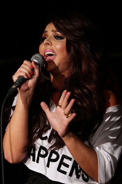 jesy nelson | Jesy Nelson Jesy Nelson of 'Little Mix' performs on stage during a fan ...