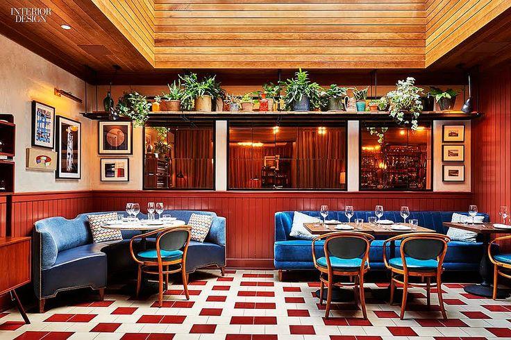12 NYC Restaurants Serve Up Hot Design | Projects | Interior Design