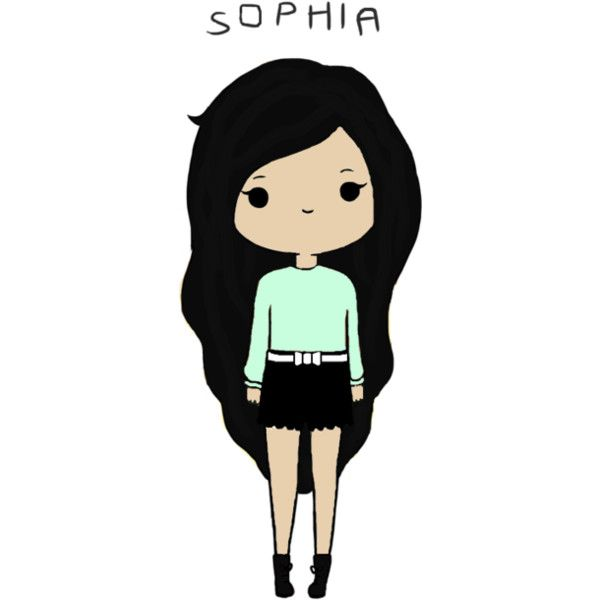 edited by @bellakatarina-xo. featuring polyvore fillers drawings chibis doodle backgrounds quotes text saying scribble phrase
