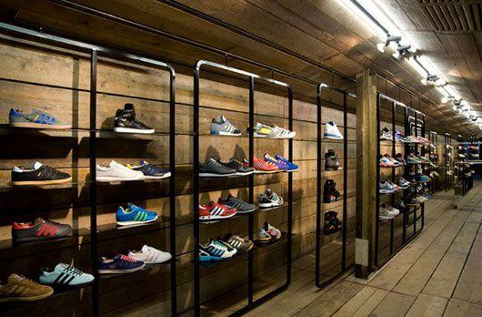 Sports Store   Retail Design   Shop Interior   Sports Display   Sport Fashion Shoe Shop