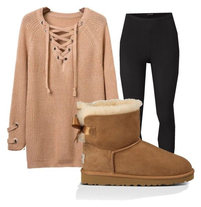 """""""Untitled #9"""" by malu4life on Polyvore featuring Venus, UGG Australia and plus size clothing"""