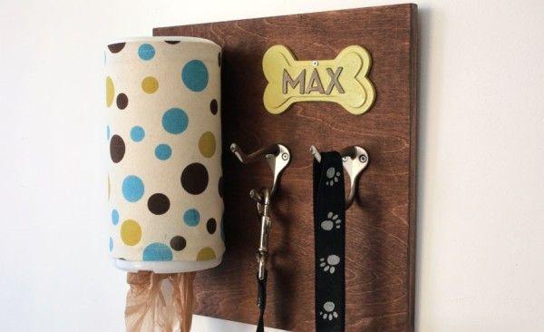idee fai da te per guinzagli e sacchettini per la cacca del cane