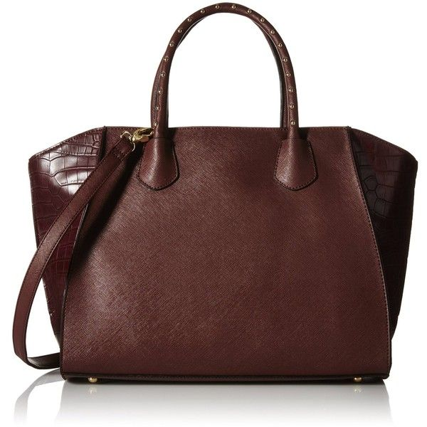 Aldo Malinois Tote Bag ($38) ❤ liked on Polyvore featuring bags, handbags, tote bags, aldo purses, aldo, aldo tote, handbags tote bags and studded purse