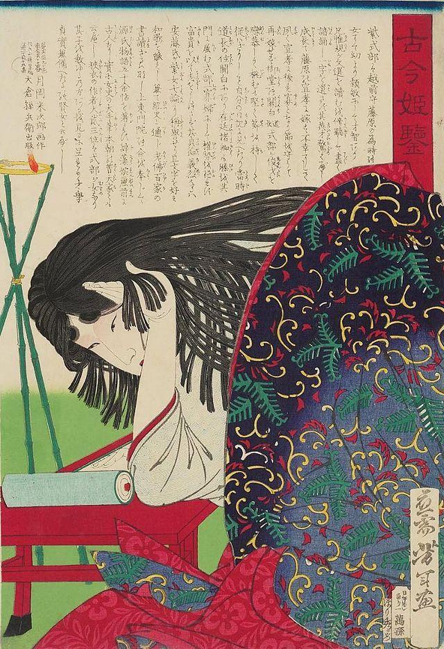 紫式部 | 日本画, 紫式部, 浮世絵