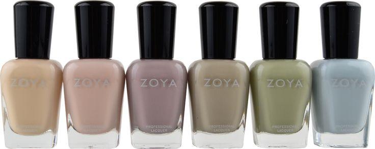 Zoya 6 Pc Whispers Collection Free Shipping At Nail Polish Canada I