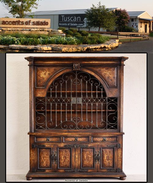 Tuscan Wrought Iron Furniture Accent Furniture