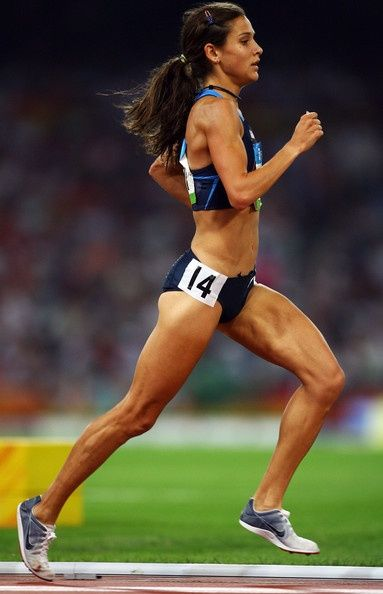 my running idol: kara goucher, she is gorgeous!