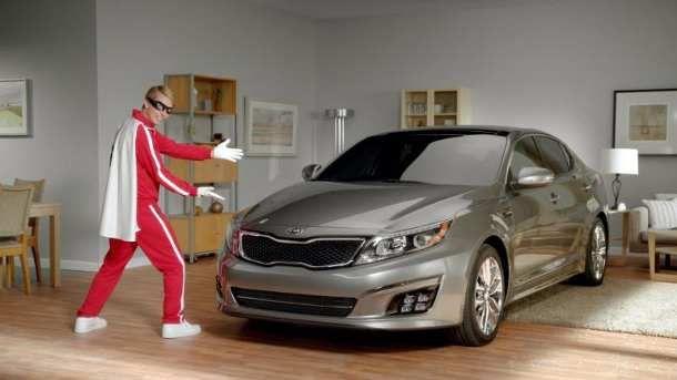 Kia Optima Ad Campaign: The Griffin Force
