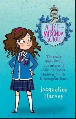 Alice-Miranda.   A series of children's chapter books, by Australian author 'Jacqueline Harvey' for middle readers.  These books are very popular and currently conquering the world.  They are a multi-media operation with a website, author visits, blog, and talks in progress regarding a possible tv series.