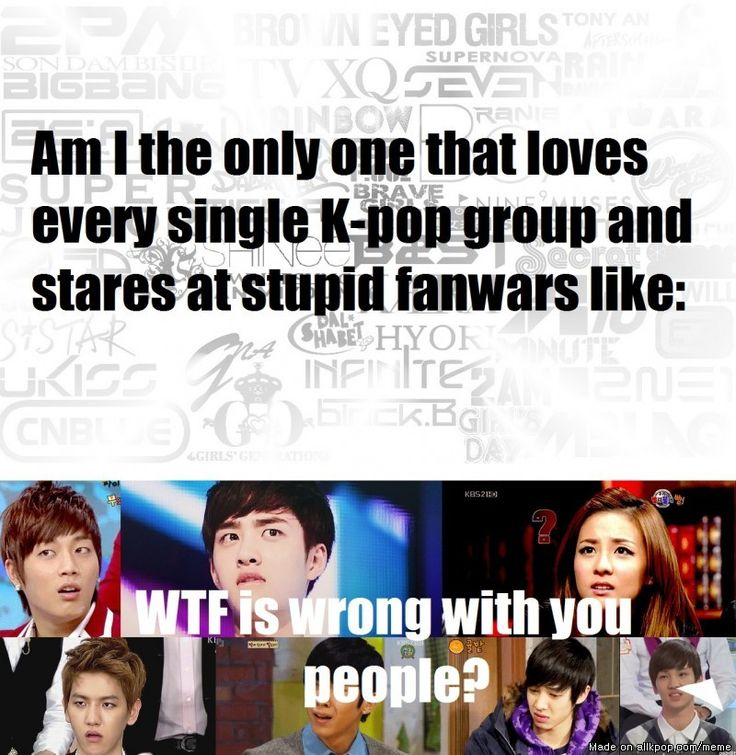 Fanwars Are Always Pointless :/ Can't we all just get along?! We love the best music on the planet! Come on guys! <3