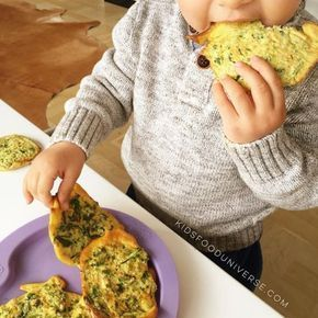 Super easy and delicious vegetable patties for babies as finger food and toddler…