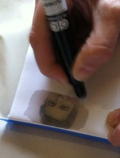 Easy way to transfer a photo to canvas! « jezzicasprojects