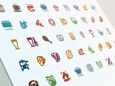 Evernote Food Cuisine Icons