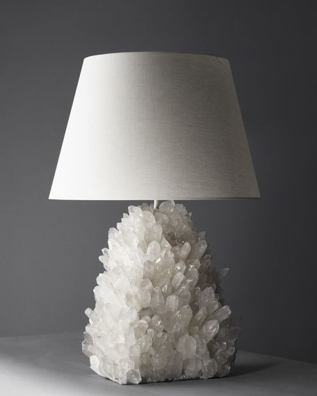 26 best lamps that rock material images on pinterest crystal rock crystal lamp table mozeypictures Gallery