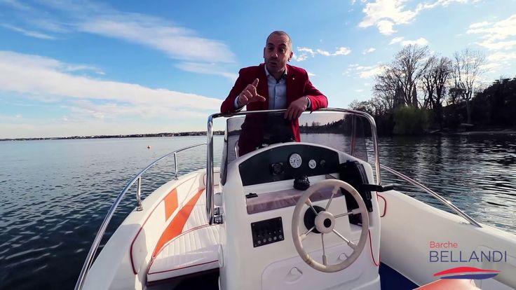 Salmeri Milos 560 con Mercuri 80 - Barca usata lago di Garda