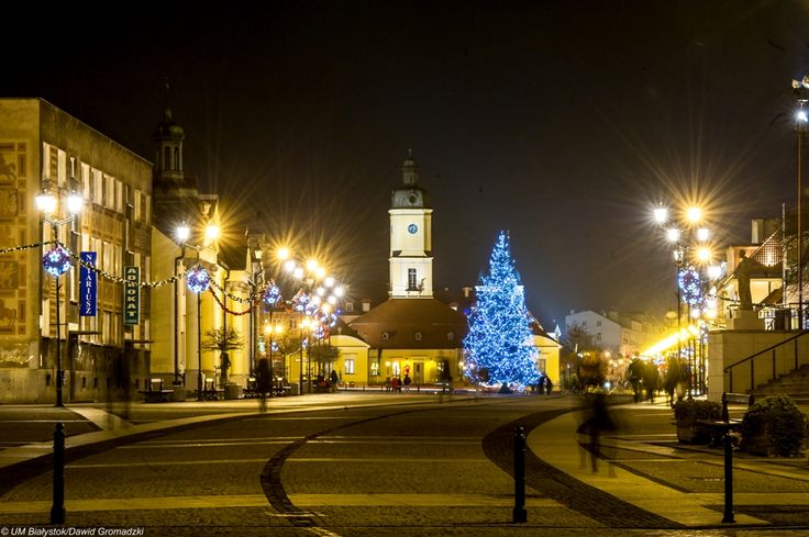 #Bialystok #RynekKosciuszki #night