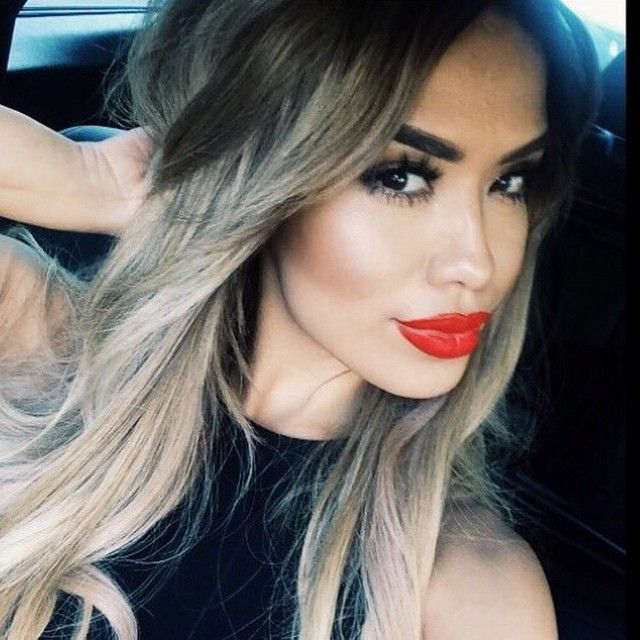 iluvsarahii's Instagram posts | Pinsta.me - Instagram Online Viewer #grayhair #makeuplook #longhair