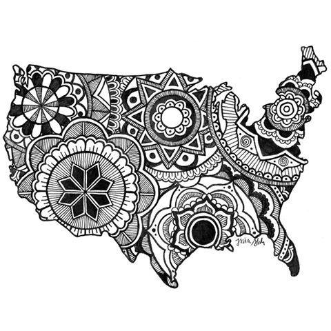 America Mandala #art #draw #sketchbook #zendala #doodle #america #zentangle #artist #blackandwhite #featuregalaxy #mandalaart #zen #drawing #mandalala #sketch #artwork #penandink #doodler #instaart #mandala #sketch_daily #pen #merica #zentangles #artsy #design #illustration #patterns #mandalas