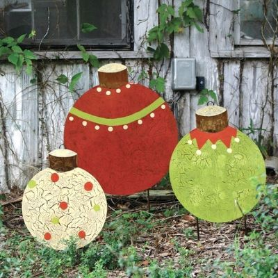 christmas wood yard decorations Christmas trees Pinterest