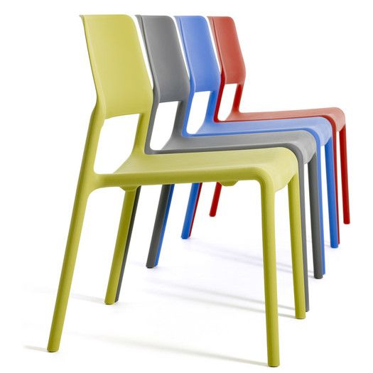 Knoll Chadwick   Spark Stacking Side Chair   The Spark Series Side Chair  Brings Energy To Any Room, Or Patio, With Its Bright Colors And Unique  Personality.