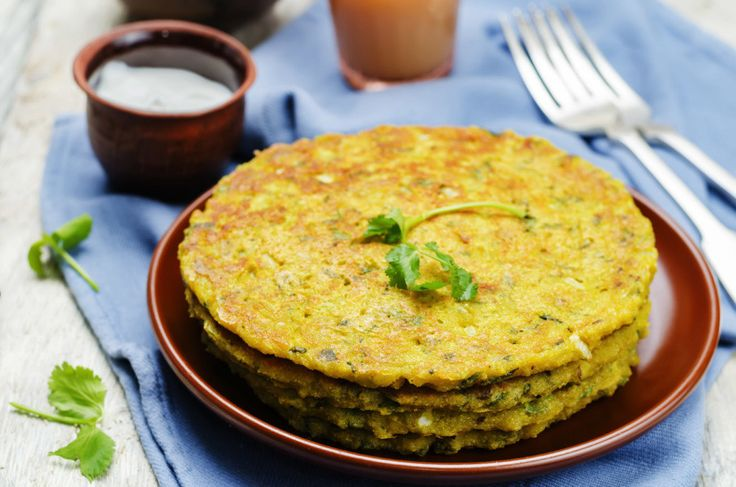 """This is a gluten-free recipe that is an Indian favourite for breakfast or light snack during the day. Chick-pea flour is a popular ingredient in the dry regions of India and is used abundantly in cooking curries and flatbreads or pancakes. It is packed with proteins and carbs along with fiber. """"Besan"""" as it is commonly known in India, is also packed with unsaturated healthy fats that help lower cholesterol. It is light yellow in color and ground to a flour like consistency. Besan is a good…"""