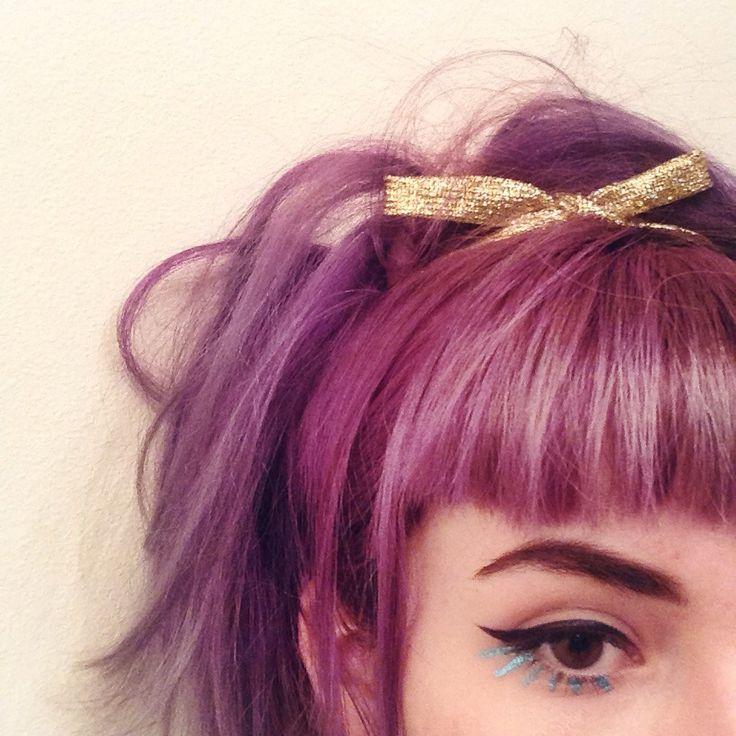 I love this color hair! Purple pink kawaii style, japanese beauty secrets