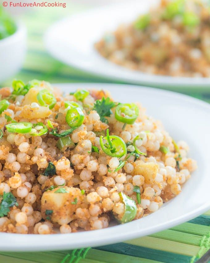how to make sabudana khichdi without soaking