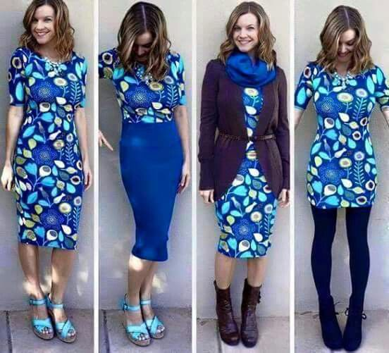 The versatile Julia dress. Wear as a dress or top. Any way you wear it, it's gorgeous. I have these in my shop www.facebook.com/groups/lularoeallstarsboutique
