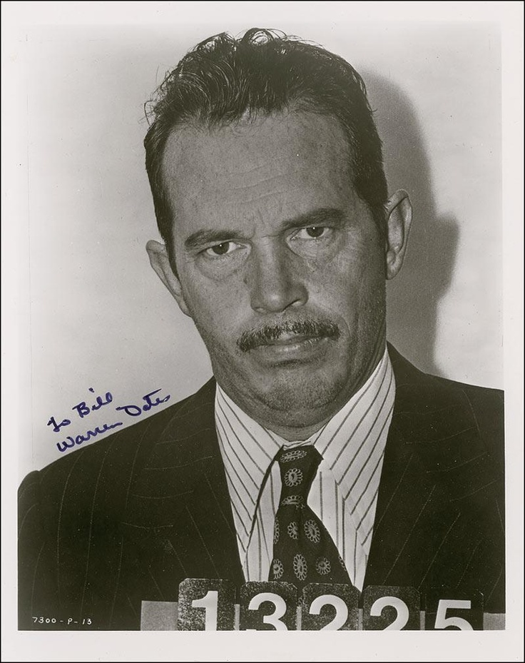 "DILLINGER (1973) - Warren Oates as the notorious bankrobber, ""John Dillinger"" - Directed by - American-International Pictures - Publicity Still."