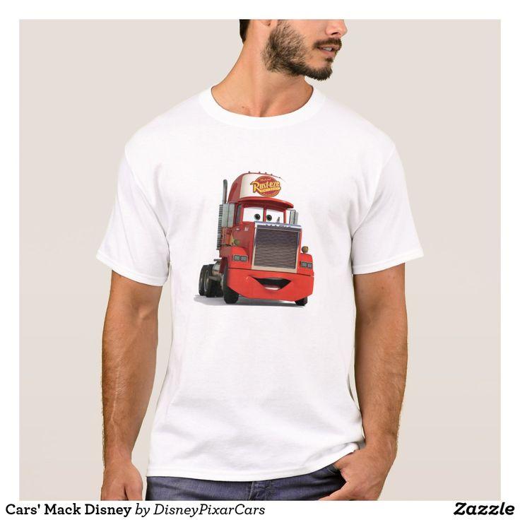 Cars' Mack Disney. Producto disponible en tienda Zazzle. Vestuario, moda. Product available in Zazzle store. Fashion wardrobe. Regalos, Gifts. Trendy tshirt. #camiseta #tshirt
