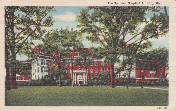 Original Sparrow Hospital building, built in 1912.